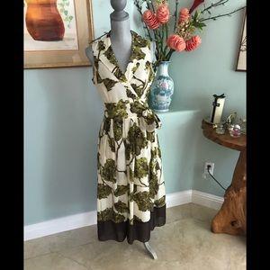 Elegant Floral Sun Dress